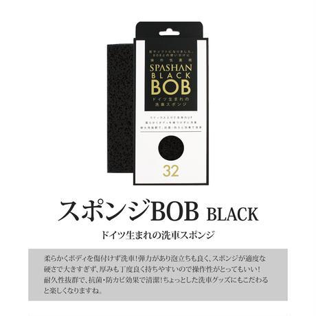 スパシャン セット カーシャンボール + スポンジBOB (黒) SPASHANステッカー プレゼント 洗車用品 メンテナンス用品