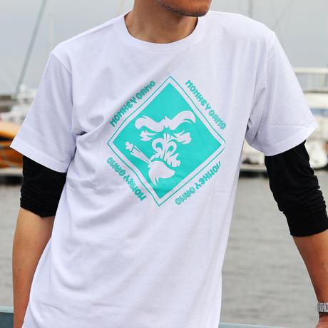 MONKEY GANG エレクトロロジック デザイン Tシャツ ホワイト M~XXL アパレル メンズ レディース