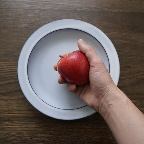 N▶400 エヌ・ヨンヒャク 7寸丸リム皿 gray