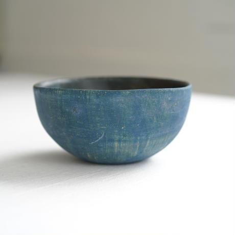 29-2 水谷智美 炻器 ハーフボール M 藍色