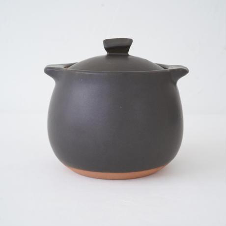 馬場勝文 2-1  耐熱スープポット(小) 黒