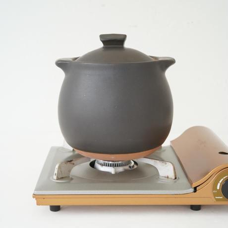 馬場勝文 10-3  耐熱スープポット(大) 黒