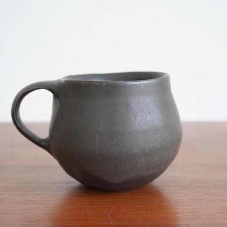馬場勝文 54-2 マグカップ(丸)黒