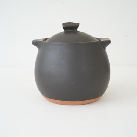 馬場勝文 10-1  耐熱スープポット(大) 黒