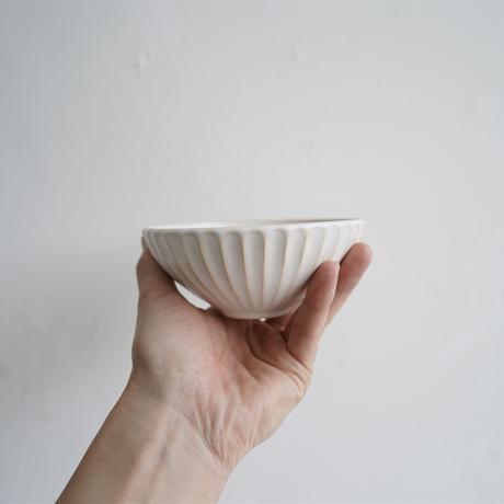 N▶400 エヌ・ヨンヒャク No.14 しのぎ碗 大 white