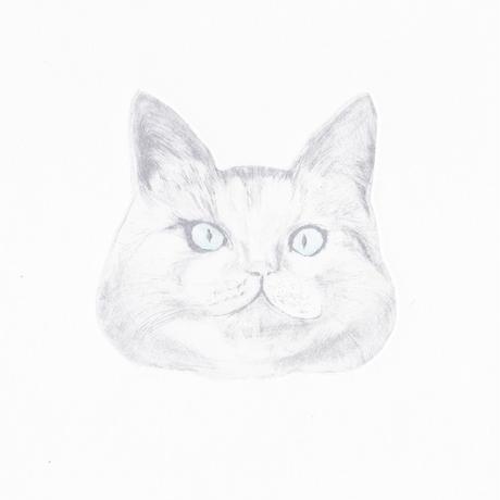 58 古屋郁 銅版画 「わたあめ」