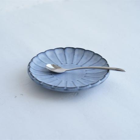 N▶400 エヌ・ヨンヒャク No.20 しのぎ小皿 gray