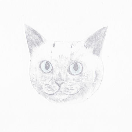 56 古屋郁 銅版画 「しらたま」