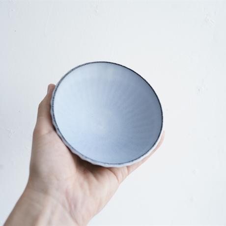 N▶400 エヌ・ヨンヒャク しのぎ碗 小 gray