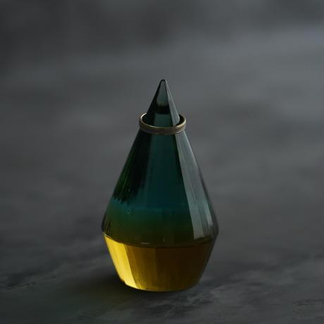 TOKI-218 時澤真美 リングレスト「orest」 緑とアンバー、カット