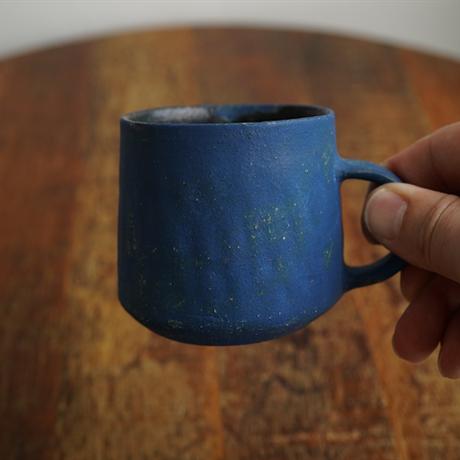100水谷智美 マグカップ青