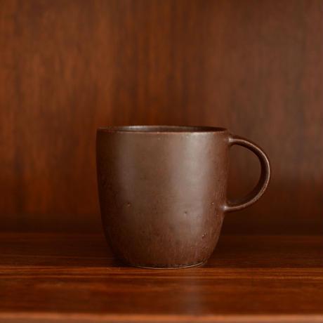 寺嶋綾子 マグカップ(大・茶)