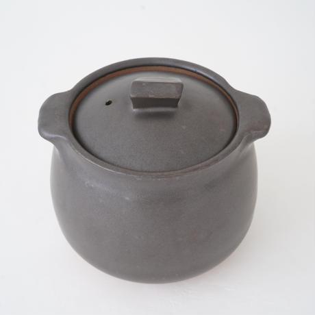 馬場勝文 2-3  耐熱スープポット(小) 黒