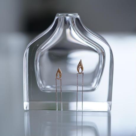 TOKI-K-153 時澤真美  一輪挿し 「a bottle」 candle