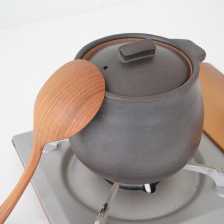 馬場勝文 2-2  耐熱スープポット(小) 黒