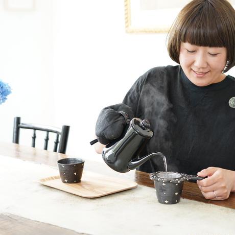 高須愛子 茶こしセット(蕎麦猪口付き)