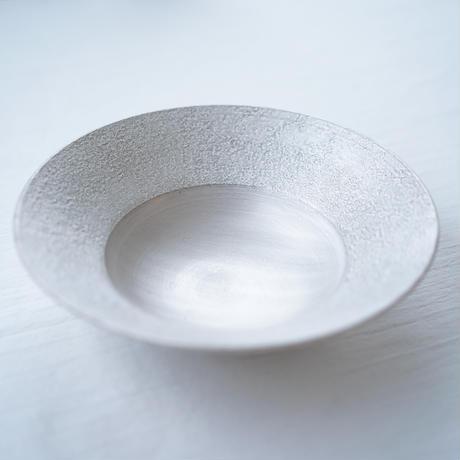 野田里美 銀彩リム鉢皿