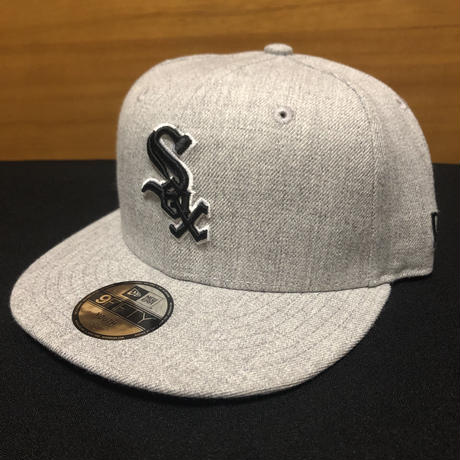 New Era Youth Chicago White Sox 9FIFTY Snapback Heather Grey