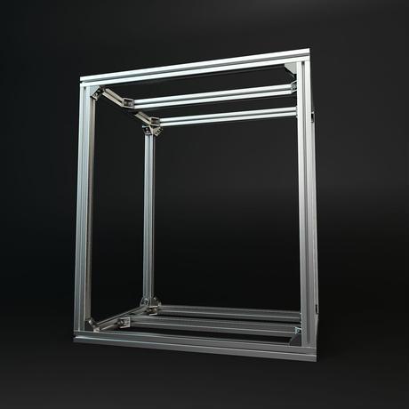 Jigsoma Aqua stand ジグソーマ アクアスタンド W600×D450×H700下段フレーム有り