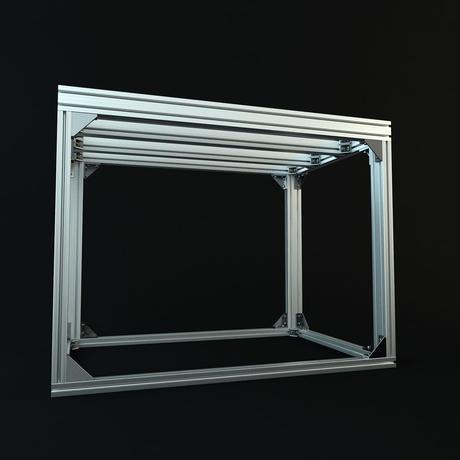 Jigsoma Aqua stand ジグソーマ アクアスタンド W900×D600×H800+横揺れ防止金具カスタム構成