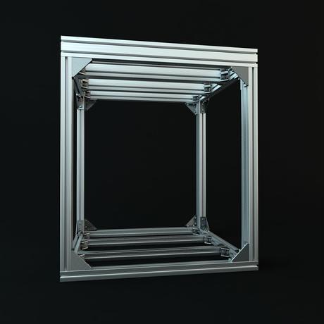 Jigsoma Aqua stand ジグソーマ アクアスタンド W600×D600×H700下段フレーム有り