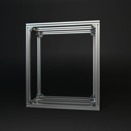 Jigsoma Aqua stand ジグソーマ アクアスタンド W600×D300×H700下段フレーム有り
