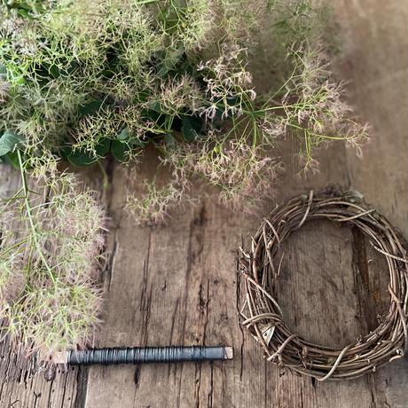 スモークツリーのリースキット