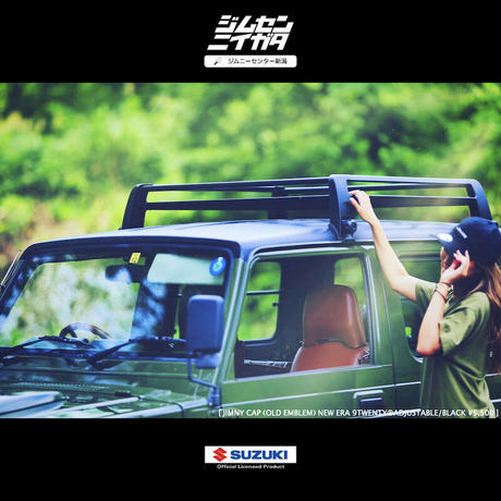 COME SOON!New! SUZUKI Official Licensed Product [JIMNY CAP NEWERA 9TWENTY™ADJUSTABLE]