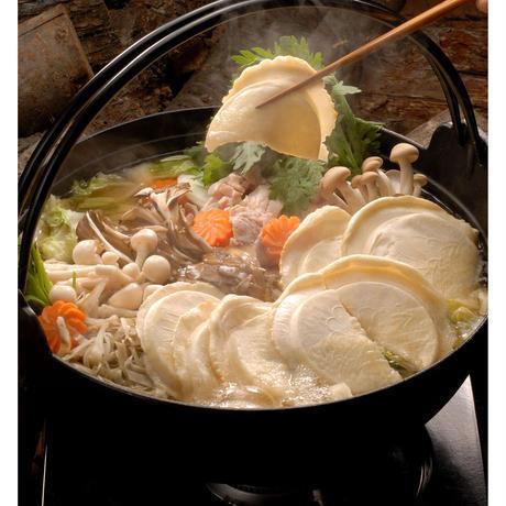 せんべい汁(スープ付き)