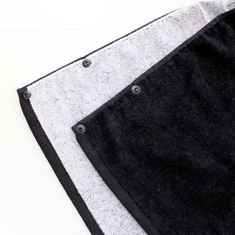 フードバスタオル(ブラック)
