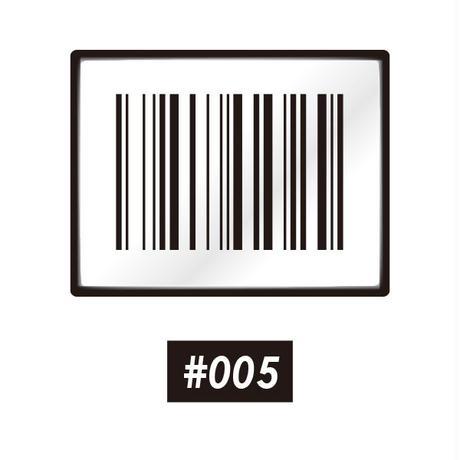 ベロクロ ワッペン #005~007