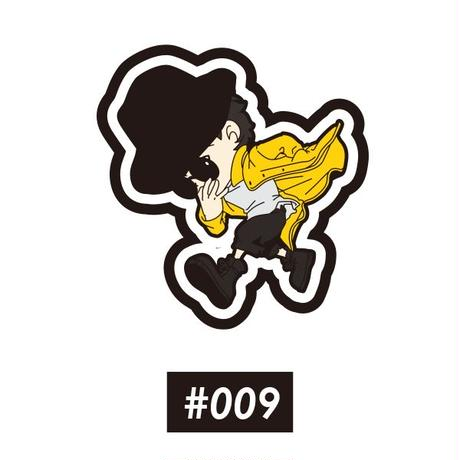 ベロクロ キャラワッペン #009~012