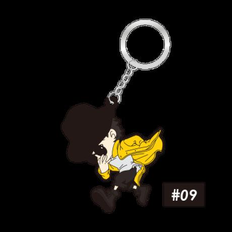 ラバーキーチェーン #07〜#09
