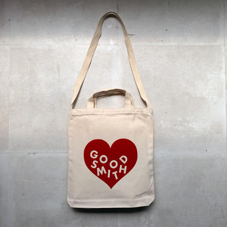 "LOVE TOTE BAG ""RED"""