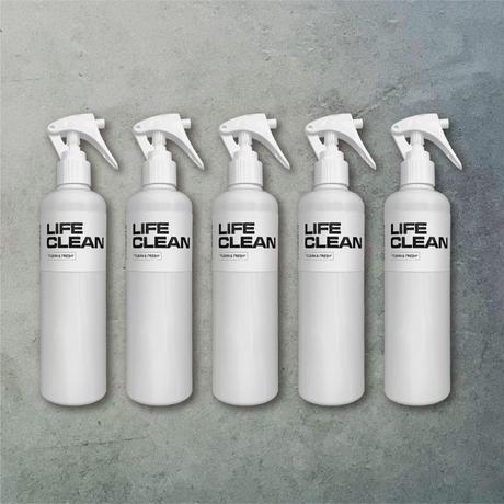 LIFE CLEAN 300ml EMPTY BOTTLE 5本セット