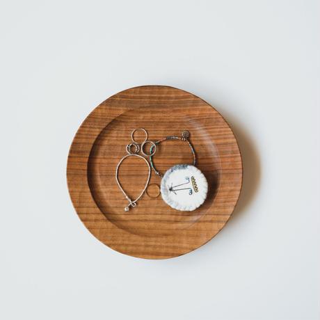 サラダ皿〔手彫りまるリムφ210〕(A - E)