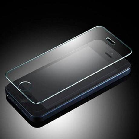 iPhone5/5sフィルム 強化クリスタル パズドラ最適 AXIDI ULTIMATE Anti shock screen protector Front(iPhone5/5sフィルム)