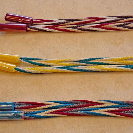 帯締め 4色ひねり