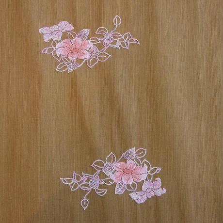 刺繍八寸帯 鉄線
