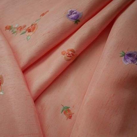 オリジナル刺繍小紋~薔薇~