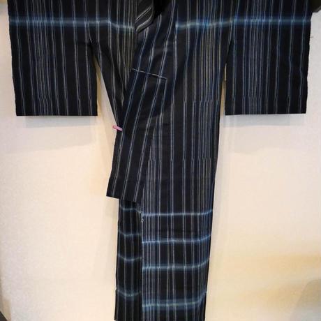 手紡ぎ藍絣木綿 平谷悠律子 道程