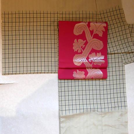 織悦 コプト唐草紋袋帯
