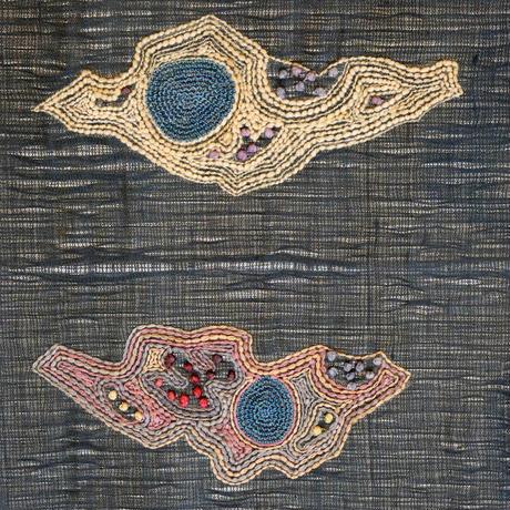 【本物の孔雀の羽使用】【定価430000円】仕立上がり袋帯 よろけ織クジャクの羽根