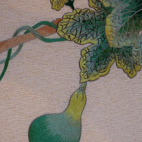 【定価327800円】刺繍袋帯 瓢 【縁起物!】