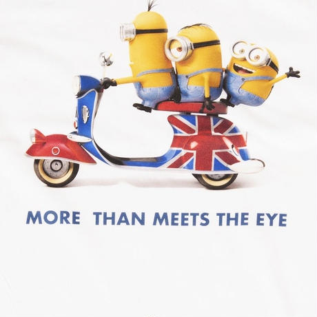 """MINION""MORE THAN MEETS THE EYE Tee WHT"