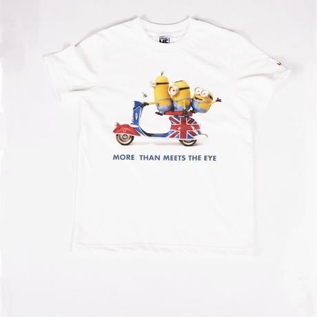 """MINION""MORE THAN MEETS THE EYE KIDS Tee WHT(9121904018)"