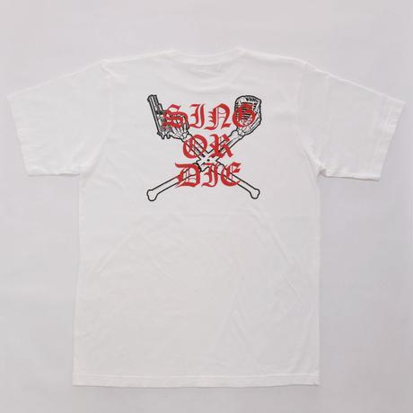 土屋アンナ×JM1 Sing or Die Bone Tシャツ(9121904010)