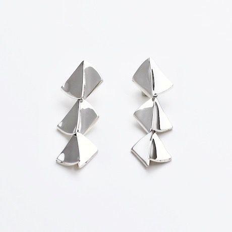 """""""NEW""""  Earrings ONDAS Silver 09-ピアス【受注商品】"""