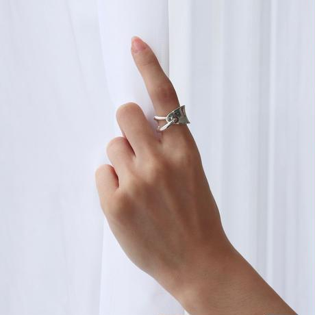 Ring  OVALO  Silver 02【受注商品】