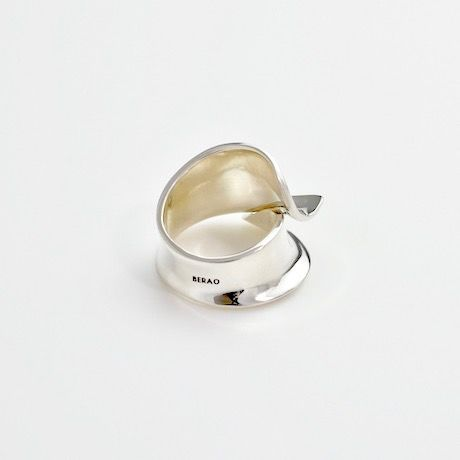 """NEW""  Ring ONDAS Silver 01 【受注商品】"